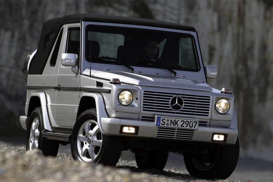 Mercedes benz g400 cdi automotive news for Mercedes benz g cabriolet