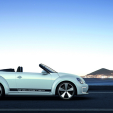 The production Beetle Convertible will likely mirror the E-Bugster