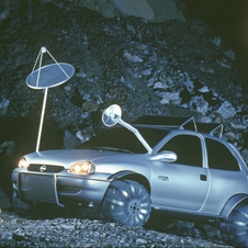 The Corsa Moon design study (1997) is based on the Corsa B.