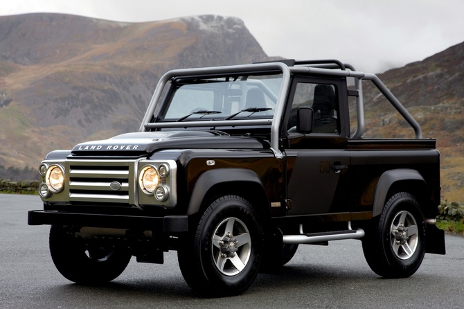 Land Rover Defender 130 Station Wagon. Land Rover 110 Defender Crew