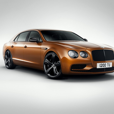 The Flying Spur W12 S gets its speed from an enhanced version of the renowned Bentley 6.0-litre, twin-turbo W12 engine