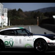 Toyota Creates All Electric, Solar-Powered 2000GT