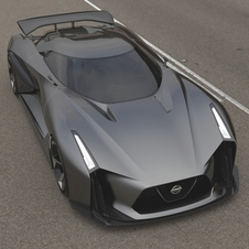 The Concept 2020 Vision Gran Turismo is an approach of what may prove to be a future high-performance model