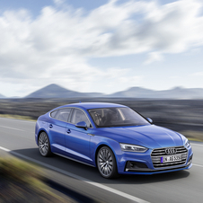 Audi is also launching with the A5 Sportback the g-tron version