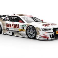 For the Hockenheim race, Audi will have a car sponsored by the new Iron Man 3 movie