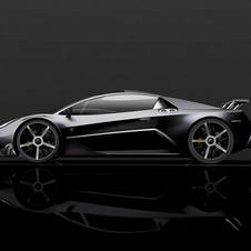 The company created its own carbon fiber monocoque for the car