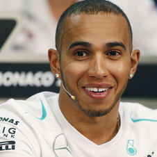 Hamilton says that he struggled with the car, but it was enough to put him in second