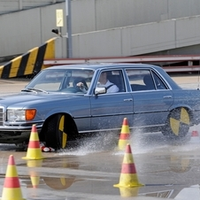 The safety innovations on the S-Class have been continuous on the S-Class for the past 60 years