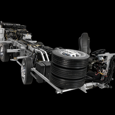The new chassis support Mercedes new diesel engines and new transmissions