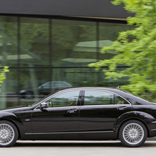 Mercedes-Benz S 500 4Matic BE Auto (FL)