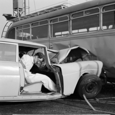 Mercedes pioneered crash testing