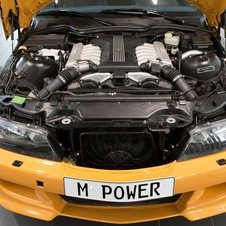 Power was 322hp and 361lb-ft from the V12