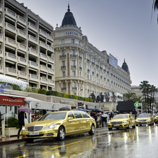 Mercedes will provide a fleet of gold cars for the Palme d'Or