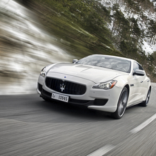 The latest generation will be the first Quattroporte with all-wheel drive
