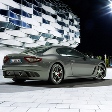 Maserati added the rear seats back to the car after removing them from the first MC Stradale