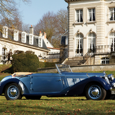 Talbot-Lago T23 Three-Position Cabriolet