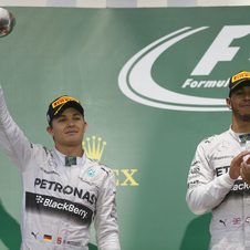 Hamilton won his eighth race of the season and increased his lead in the championship