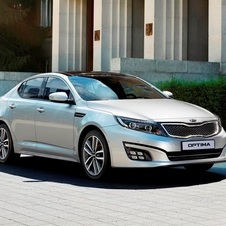 The Optima gets a new front and rear for its refresh