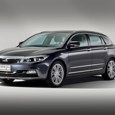 Qoros Q3 Estate Concept