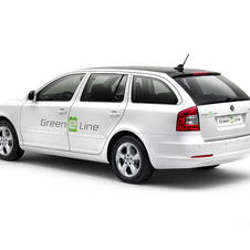 Electric Skoda Octavia Green E Line Testing in Czech Republic
