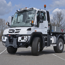 The Unimog is offered in 10 different models with either two or three axles