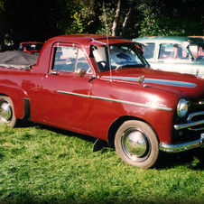 Vauxhall Velox Coupe Utility, 1953