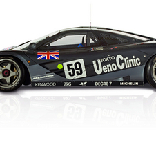 This is the car that won Le Mans in 1995