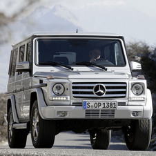 Mercedes-Benz G 500 BlueTEC Station