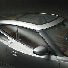 The B6 Coupe has a completely glass roof