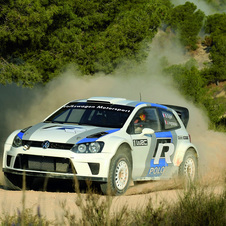 VW has been testing the Polo R WRC for over a year and testing it at some rallies