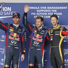 Grosjean did an admirable job to hold off Webber