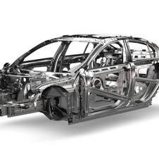 The Jaguar XE will become the first production model built with the DA7 aluminium platform