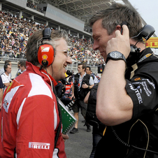 James Allison will join the Ferrari team