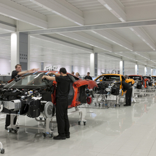 UK PM David Cameron Opens New McLaren Production Center
