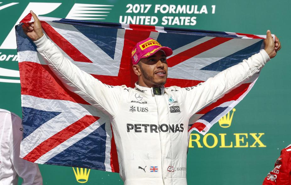 Hamilton grabbed his ninth win of the season