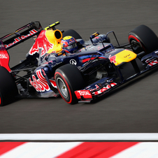 Webber beat Vettel by 0.074s