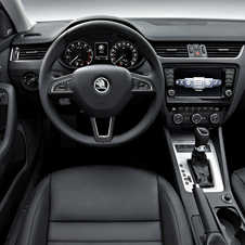 The interior benefits with more room from the larger interior.