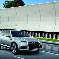 Audi crosslane coupé makes its debut at the Paris Motor Show