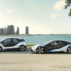 The i3 and i8 will be the major i-series cars.
