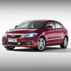 O Qoros 3 Hatch é baseado na mesma plataforma do 3 Sedan