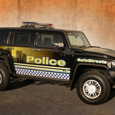 Hummer H3 Police Vehicle