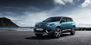 The new Peugeot SUV gets a muscular exterior design, an upright front grille and harder-edged rear and strong door lines