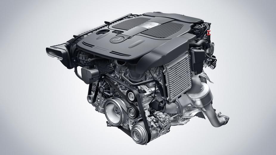 Mercedes benz presents new v8 and v6 engines news for Mercedes benz 3 5 v6 engine