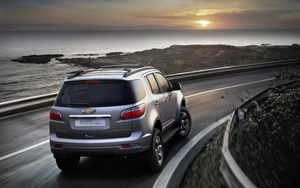 Next Generation Chevrolet Trailblazer Debuted in Thailand