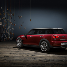 The Clubman concept is 260mm longer than the previous generation model