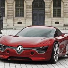 Renault worked on the electric DeZir in 2010 and revised it into the Alpine A110-50