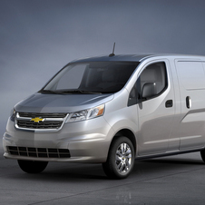 The vans are the NV200 with Chevrolet badges