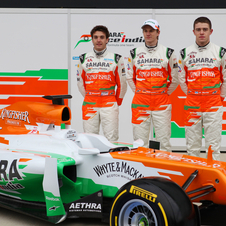 Force India aiming top-five with new VJM05