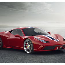 The 458 Speciale is the latest, more powerful edition of the company's bestselling car