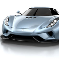 The Regera is the first hybrid ever created by Koenigsegg and features a staggering combined output of 1806hp and 2150Nm of torque
